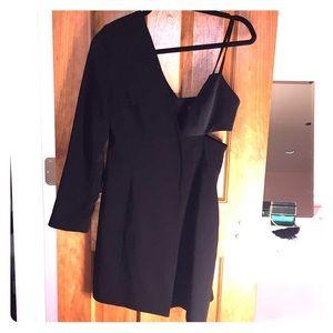 TopShop asymmetrical blazer dress